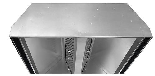 Вентиляционный приточно-вытяжной зонт (островной) ВЗО 1000х700х400х350