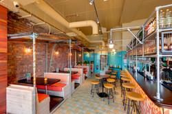 Дизайнерская вентиляция в столовой и баре