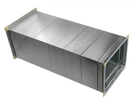 Воздуховод прямоугольный с шиной (оцинкованная сталь) BПOЕ-600х600