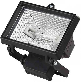 Прожектор симметричный с ГЛН лампой, ИО-150W, черный IP54