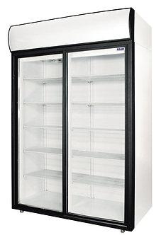 Холодильный шкаф cо стеклянными дверьми Polair DM110-S