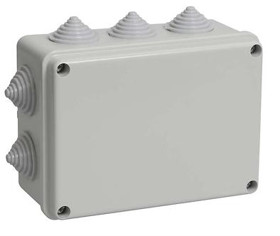 Коробка распределительная 150х110x70 мм IP55 10 вводов