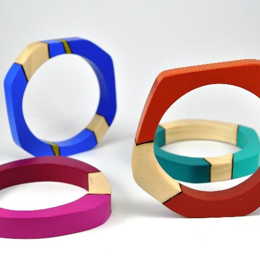 Color Techniques: Metal and Wood Instructor: Jillian Sortore
