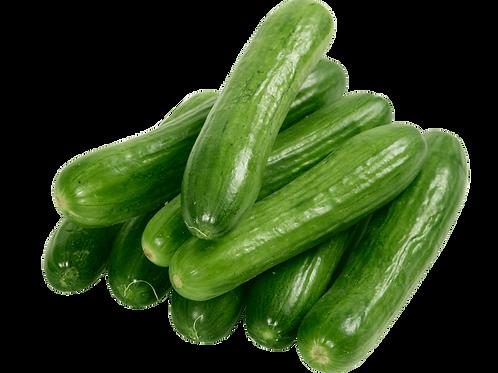 Cucumbers (per pound)
