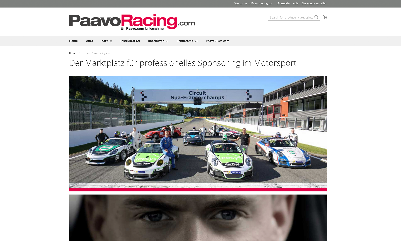 Der Marktplatz für professionelles Sponsoring im Motorsport