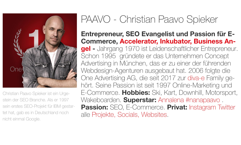 PAAVO - Christian Paavo Spieker