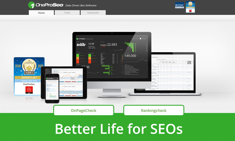 OneProSeo SEO Tools Company