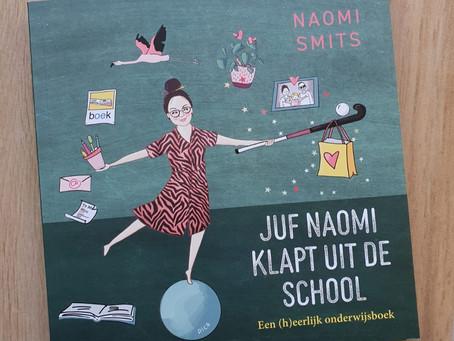 Boekrecensie: 'Juf Naomi klapt uit de school'