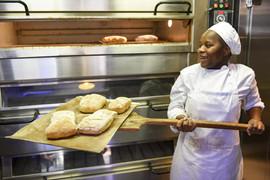 Fresh bread at the Mojo each day.