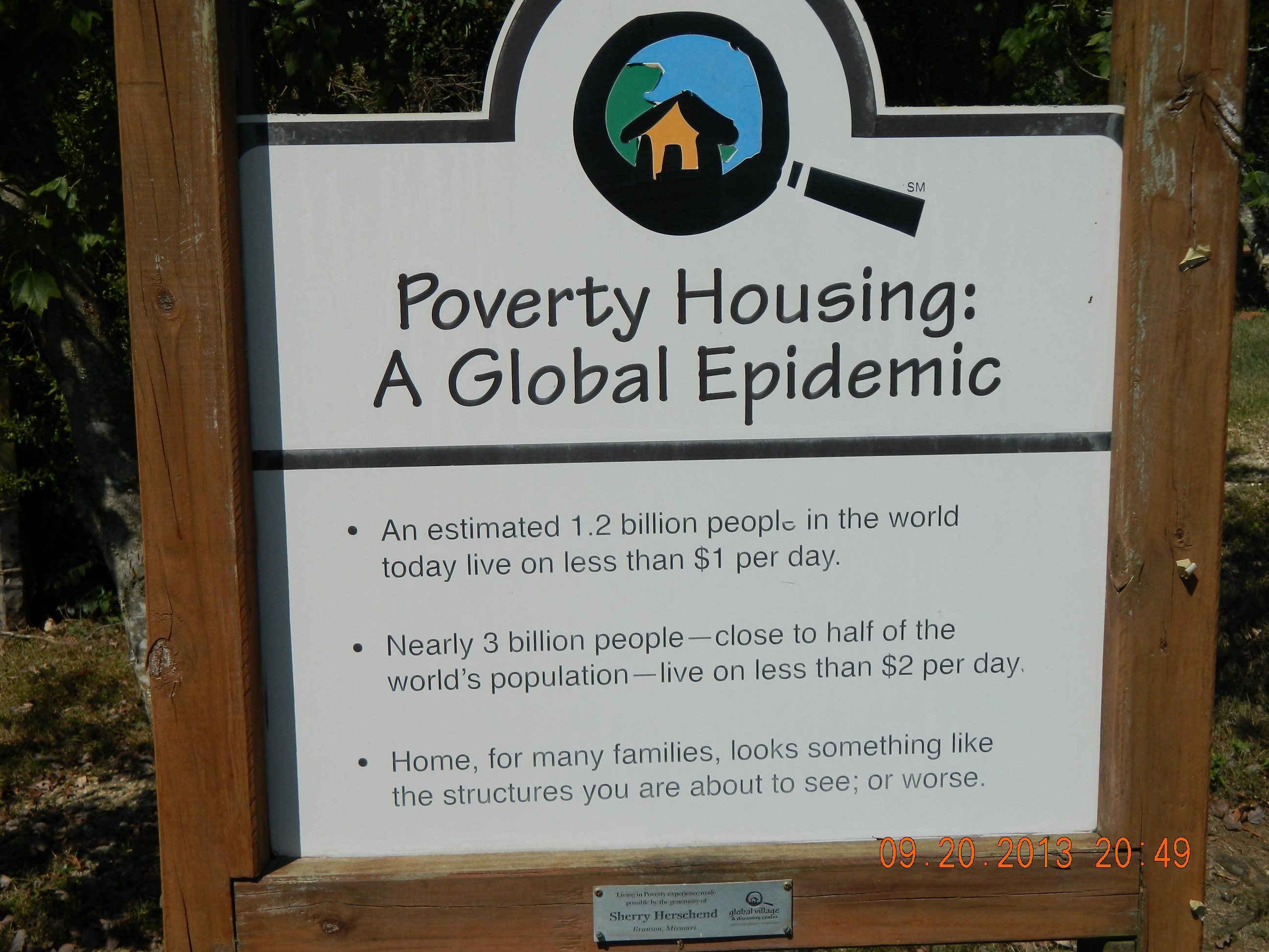 A GLOBAL EPIDEMIC - POVERTY HOUSING