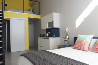 The typical accommodation at the Mojo