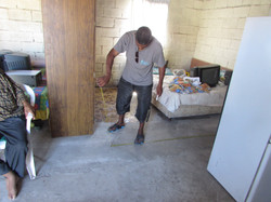 MEASURING FOR WALLS