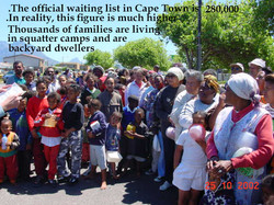 The long waiting lists in Cape Town