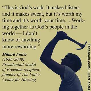 MILLARD FULLER - THE FOUNDER