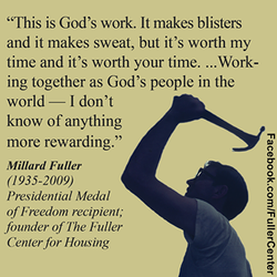 MILLARD FULLER - THE FOUNDER