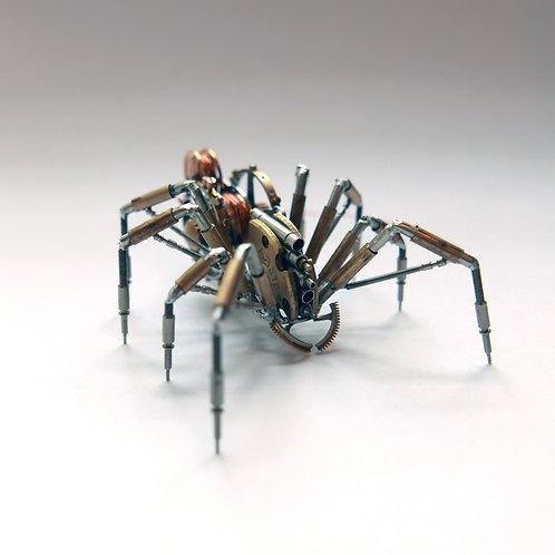 Spider No 122 Watch Parts Recycled Mechanical Clockwork Steampunk Sculpture