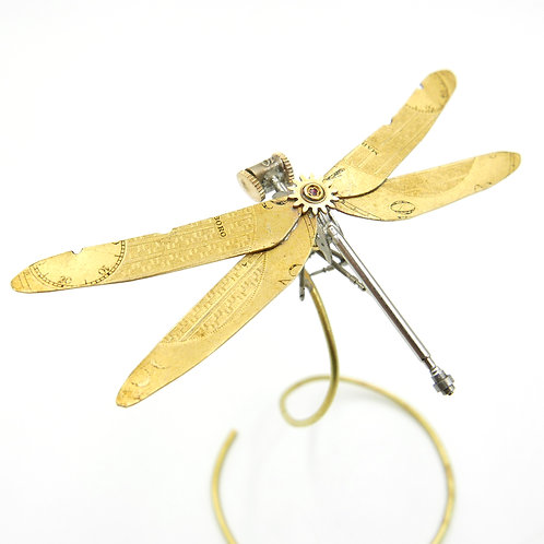 Watch Parts Dragonfly No 28 Clockwork Mechanical Arthropod Steampunk Insect