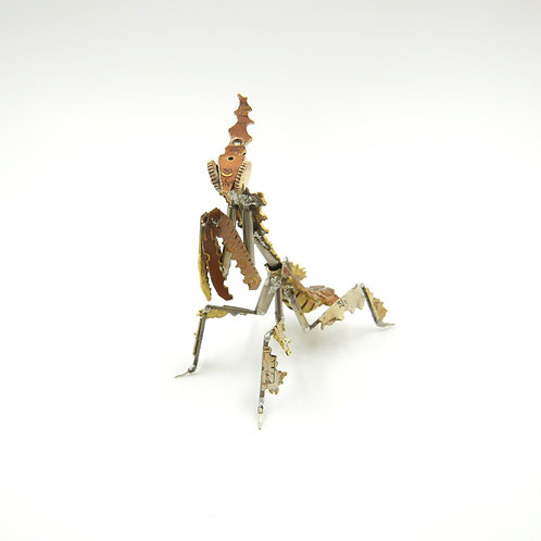 Ghost Mantis No 10 made from Watch Parts Clockwork Steampunk Gift