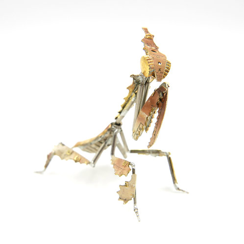 Ghost Mantis No 12 made from Watch Parts Clockwork Steampunk Gift