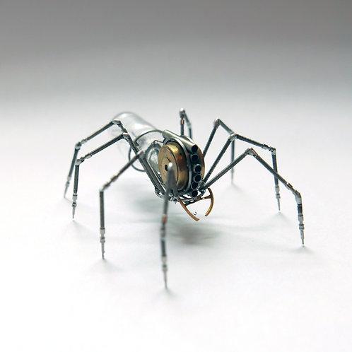 Watch Parts Spider No 123 Recycled Mechanical Clockwork Steampunk Sculpture