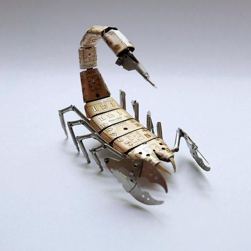 Scorpion No 19 Watch Parts Recycled Mechanical Clockwork Steampunk Sculpture