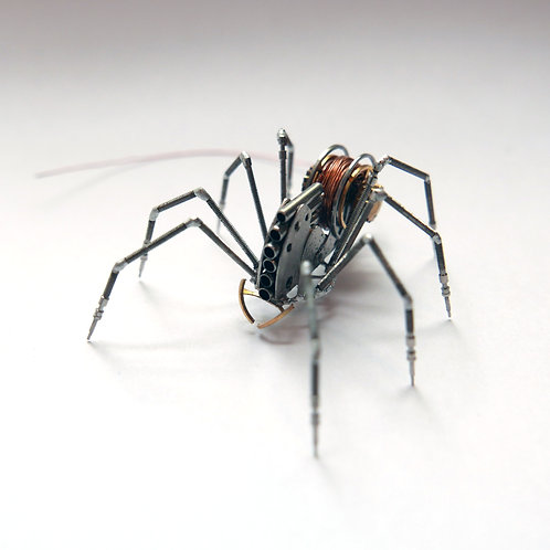 Spider No 125 Watch Parts Recycled Mechanical Clockwork Steampunk Sculpture