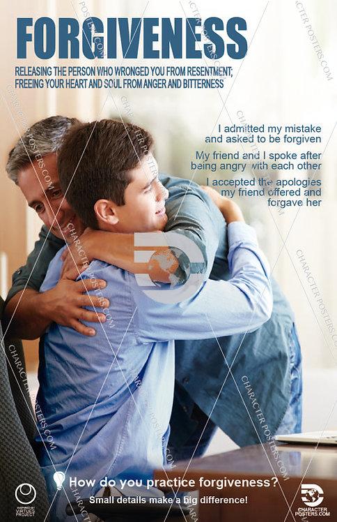 Forgiveness Poster, Character Education