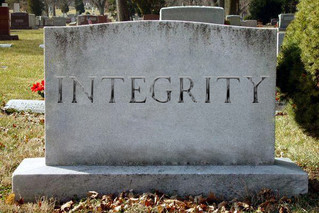 THE DEATH OF INTEGRITY, BIRTH OF HOPE