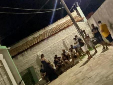 Médico, enfermeiras e outras 13 pessoas são levadas a delegacia por festa com aglomeração no Ceará