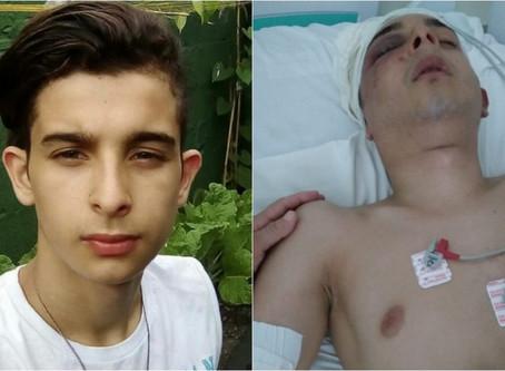 Jovem fica paralisado após ser espancado por paciente de ala psiquiátrica de hospital