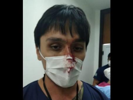 Paciente com suspeita de coronavírus tenta morder equipe médica em Curitiba