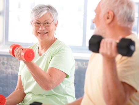 Exercícios e dieta saudável podem prevenir problemas de saúde na velhice