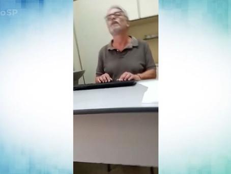 Médico se recusa a usar máscara e diz para paciente parar de ver TV