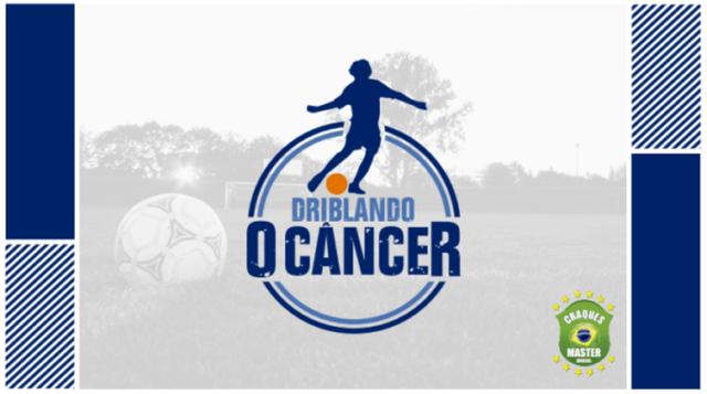 Driblando o Câncer quer envolver os times de futebol na divulgação da importância da prevenção e diagnóstico precoce da doença