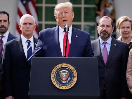 Teste de coronavírus de Trump tem resultado negativo