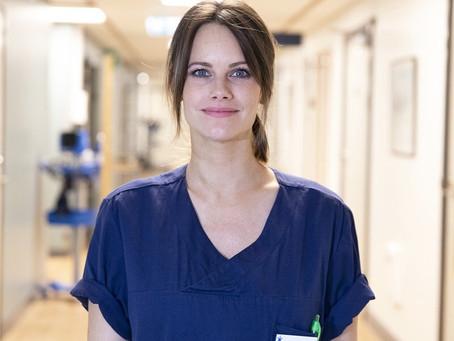 Documentário mostra princesa sueca como voluntária em hospital durante pandemia
