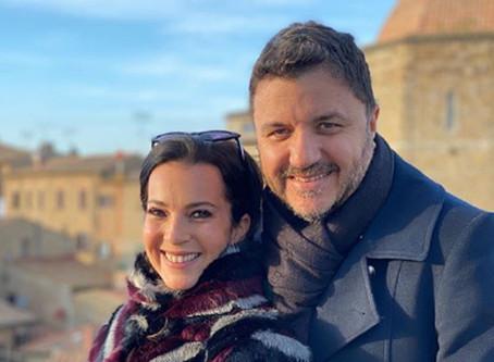 Esposa de Maurício Manieri comemora a recuperação do cantor após infarto