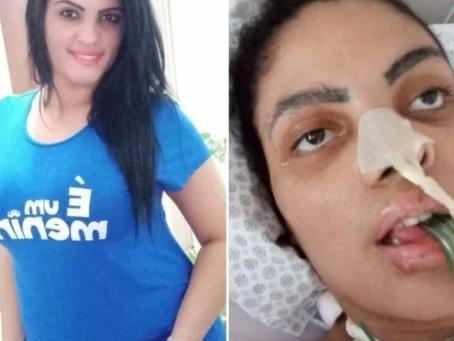 Mulher de 26 anos fica em estado vegetativo após contrair Covid-19