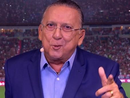 Galvão Bueno permanece na UTI após infarto, mas o quadro é estável