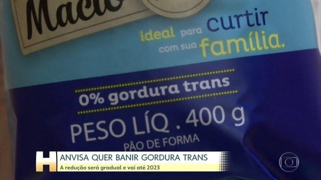 Anvisa aprova decisão de banir a gordura trans dos alimentos até 2023
