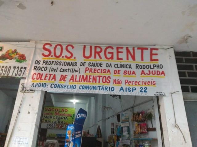 Pacientes tentam ajudar funcionários sem salário — Foto: Reprodução