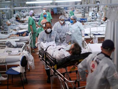 Brasil tem novo recorde: 4.249 mortes por Covid-19 em 24 horas