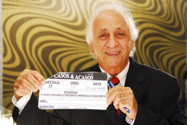 Flavio Migliaccio em cena de 'Casos & Acasos' (2008) — Foto: Kiko Cabral/Globo