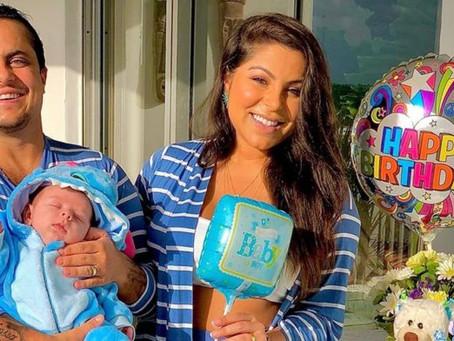 Esposa de Thammy agradece médico que ajudou na gravidez de Bento