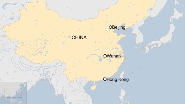 Hong Kong e Cingapura começaram a aplicar medidas de controle de circulação de pessoas vindas de região chinesa com pessoas infectadas. — Foto: BBC