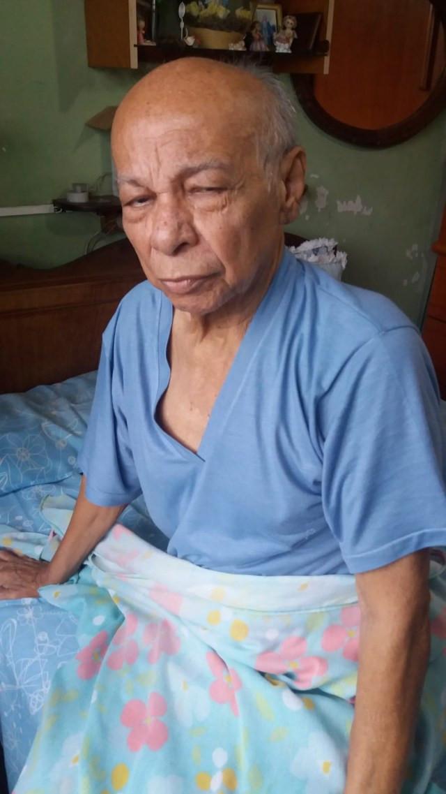 Idoso de 83 anos tem tumor no rim e fígado e não consegue ser atendido na Clínica da Família da Penha, na Zona Norte do Rio  — Foto: Reprodução/Acervo pessoal