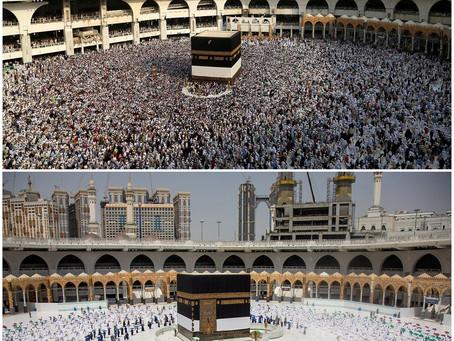 Arábia Saudita libera grande peregrinação a Meca para 60 mil residentes vacinados
