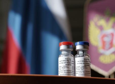 Covid-19: Brasil tem prioridade no recebimento de vacina russa