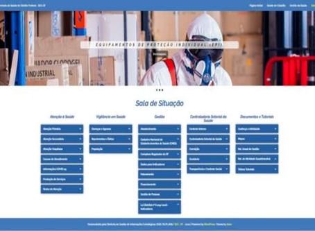 Novo site auxilia usuários da rede pública de saúde do DF