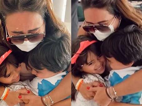 Irmã de Sabrina Sato tem alta hospitalar por Covid e chora ao ver os filhos